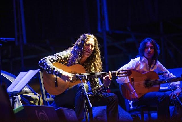 Momentos de un concierto ineludible de este festival de flamenco de Almería.