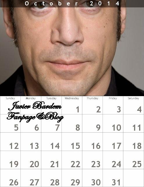 October Calendar/ Calendario mes deOctubre