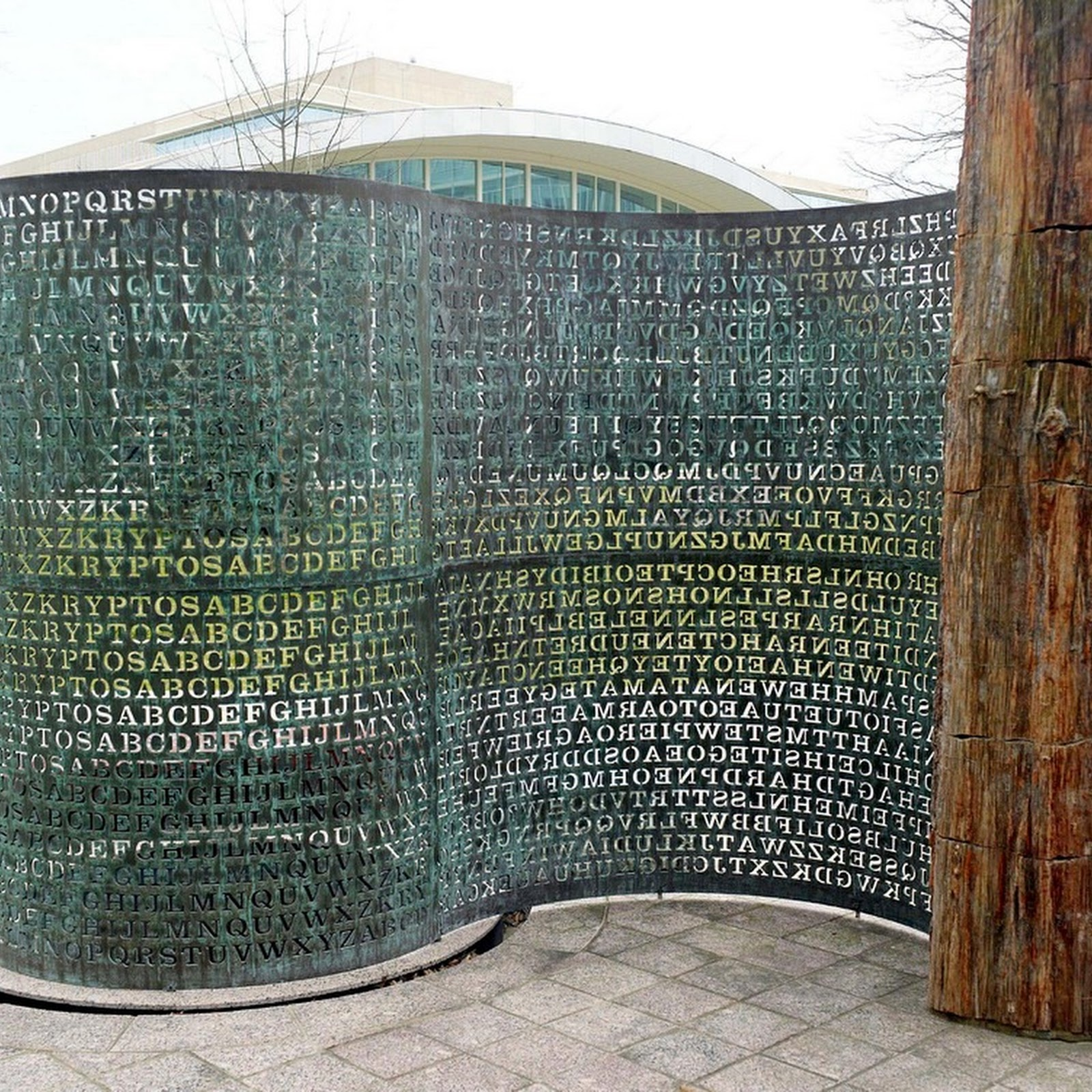 Kryptos: The Mystery Sculpture At CIA's Headquarters