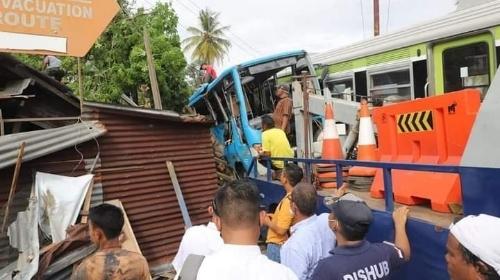 Tinjau Lokasi Kecelakaan Bus Trans Padang di Anak Aie, Ini Kata Wawako Hendri Septa.