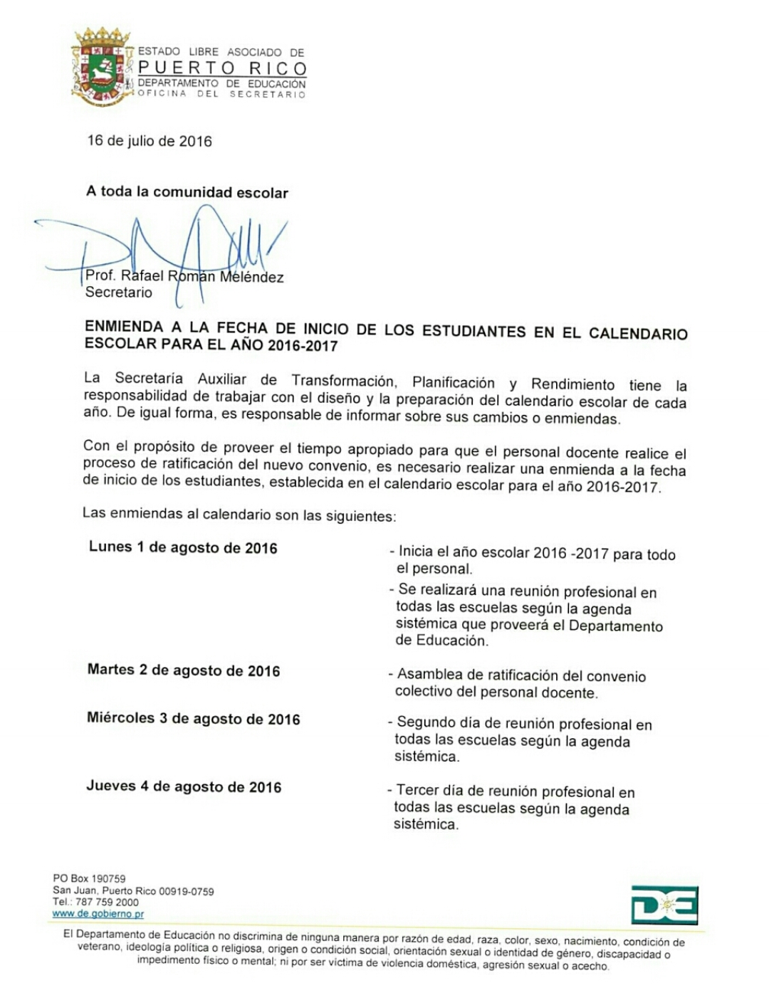 Consejería Profesional - Escuela Superior Ana Roqué de Duprey ...