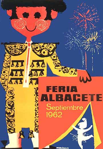 Cartel Feria Albacete 1962