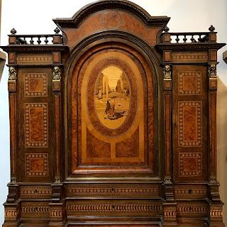 Italian Inlaid Cabinet