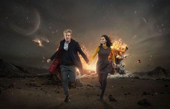 Doctor Who The Magicians Apprentice The Doctor and Clara