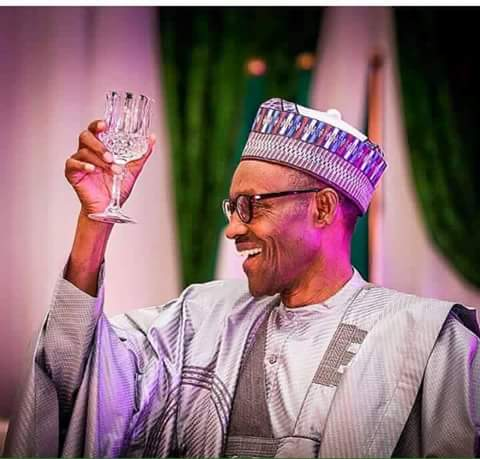 Image result for Buhari's New Year