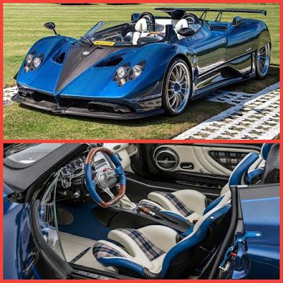 (2). Pagani Zonda HP Barchetta — $17.5 million
