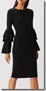 Coast Sparkle Knit Dress with Fluted Sleeves