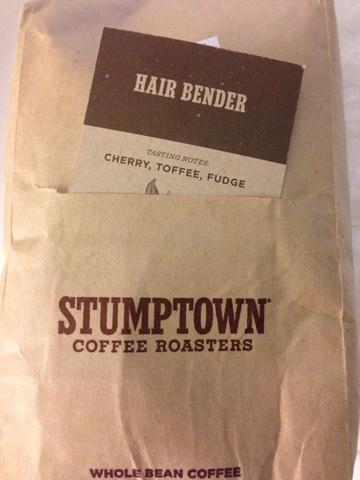 stumptown coffee hair bender