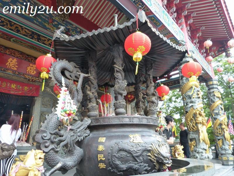 Chinese temple Bintulu Sarawak