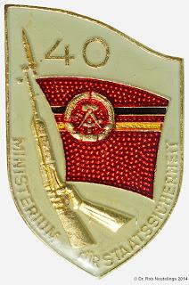 706 MfS 40 Jahre Insignes