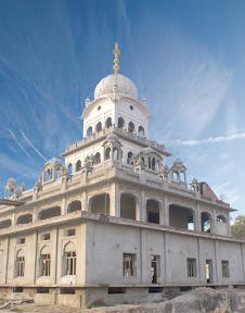 Gurudwara Bal Lilah Sahib  is under construction, Nankana Sahib