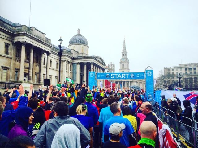 London Winter Run Start