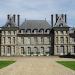 Château Saint-Jean de Beauregard : façade orientale