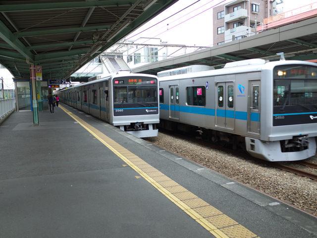 南林間駅の小田急江ノ島線