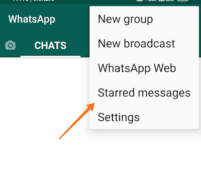 How to save whatsapp messages