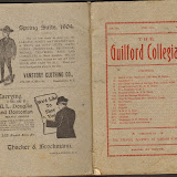 1904 Guilford Collegian