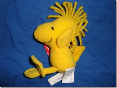 Woodstock Small Plush Wendy Restaurant 4 inches