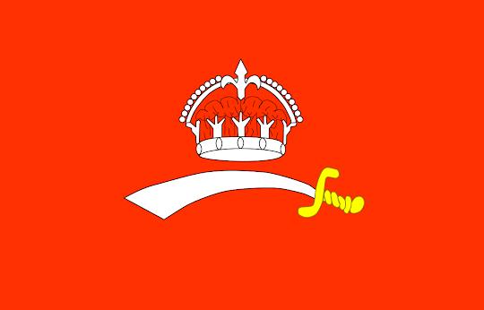 Baroda State Flag