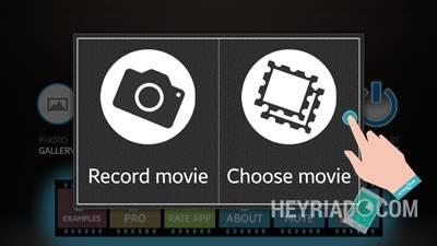 bisa kau lakukan memakai aplikasi video berikut ini Cara Membuat Video Sulap Keren Di Android