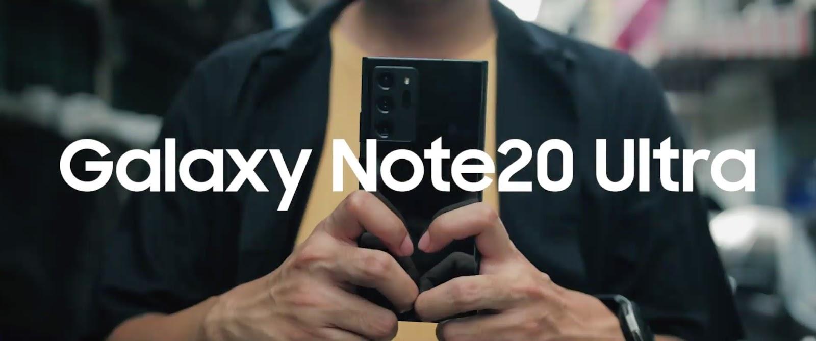 เคล็ดลับสร้างสรรค์ Content ระดับมืออาชีพบน Galaxy Note20 Series