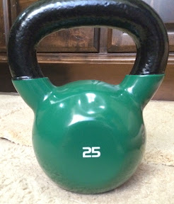 Happy Monday + Kettlebell Weight Training