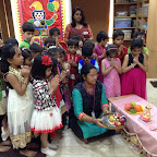 Ganesh Festival Celebrated By Sr.Kg (2016-17) at Witty World Bangur Nagar