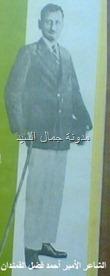 الشاعر أحمد فضل القمندان