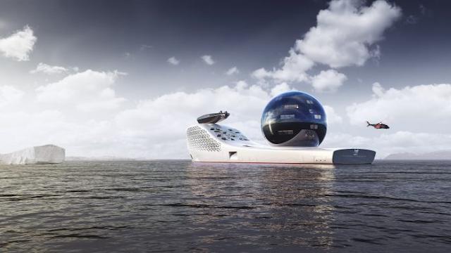 Earth 300: embarcação movida a energia nuclear vai investigar mudanças climáticas
