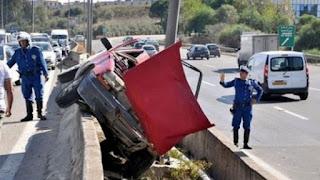 Accidents de la route: 7 morts et 36 blessés en une journée