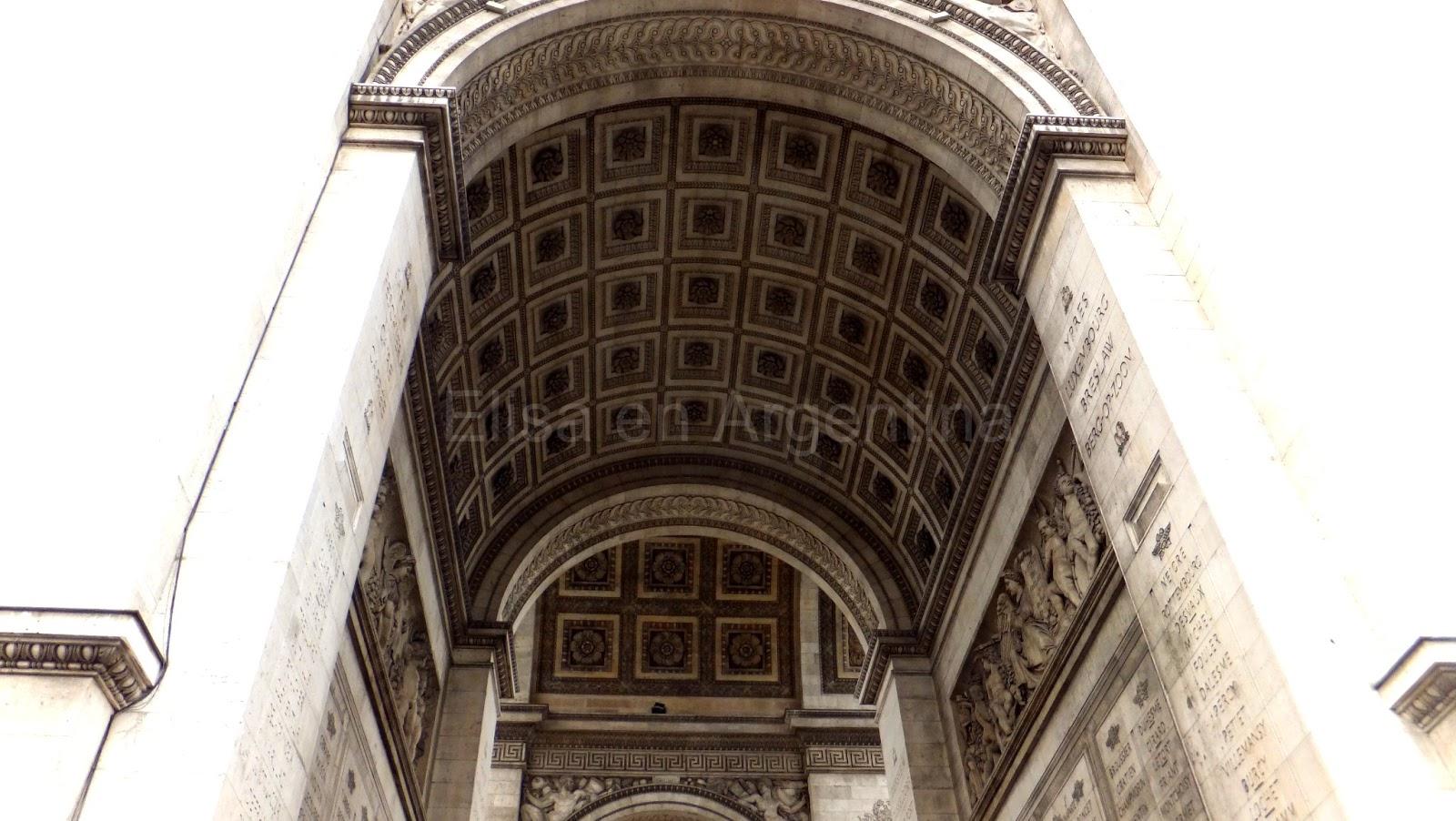 Arc de Triomphe, Arco de Triunfo, Place De Gaulle, París, Elisa N, Blog de Viajes, Lifestyle, Travel
