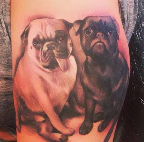 50 best dog tattoos designs and ideas designatattoo. Black Bedroom Furniture Sets. Home Design Ideas