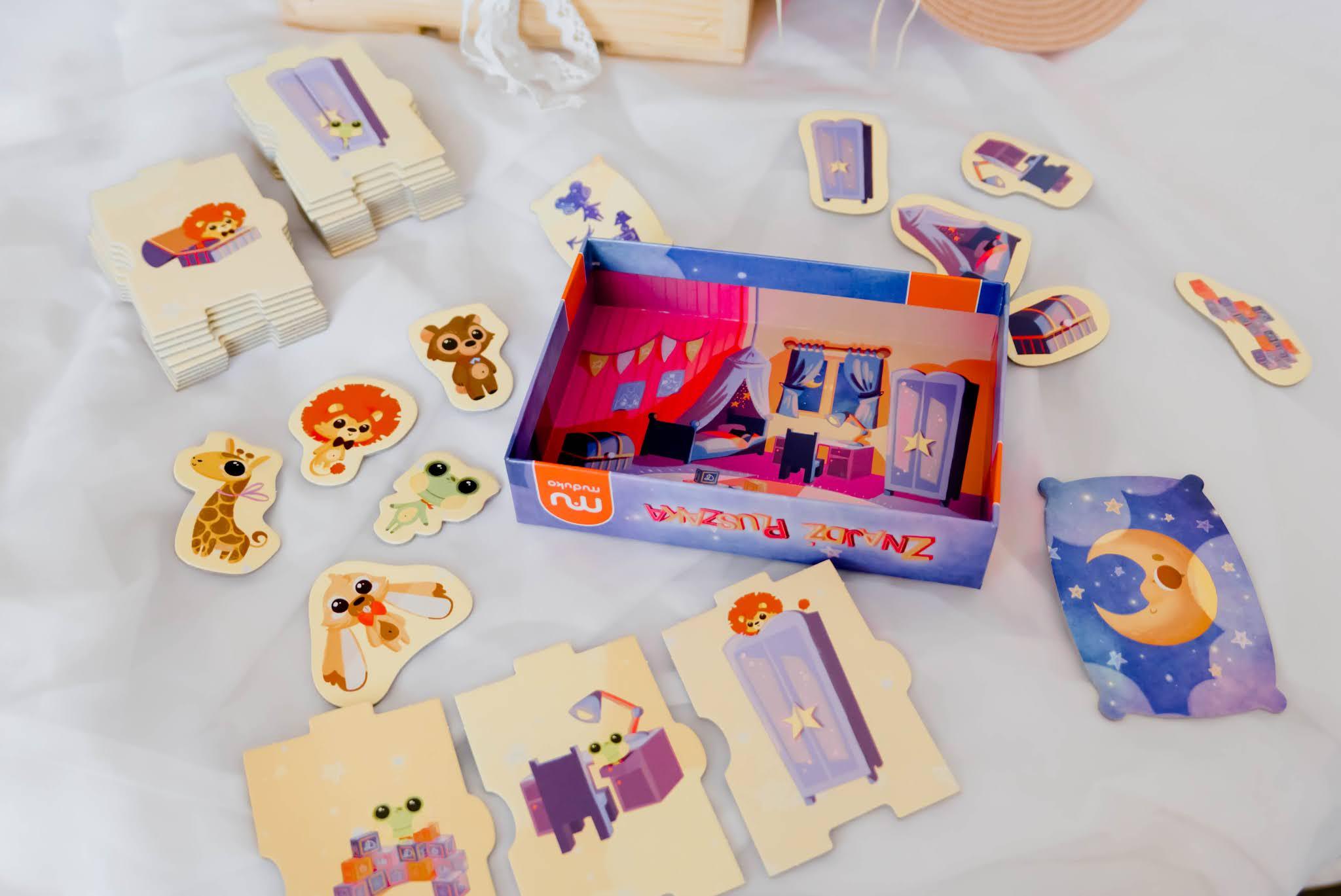 gry planszowe dla najmłodszych dzieci