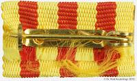 013e Kampforden für Verdienste um Volk und Vaterland Gold am Kriegsband www.ddrmedailles.nl