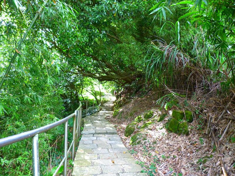 Taipei. Si Shou shan, en plein coeur de Taipei. Accès par un autre chemin moins emprunté. - P1240879.JPG