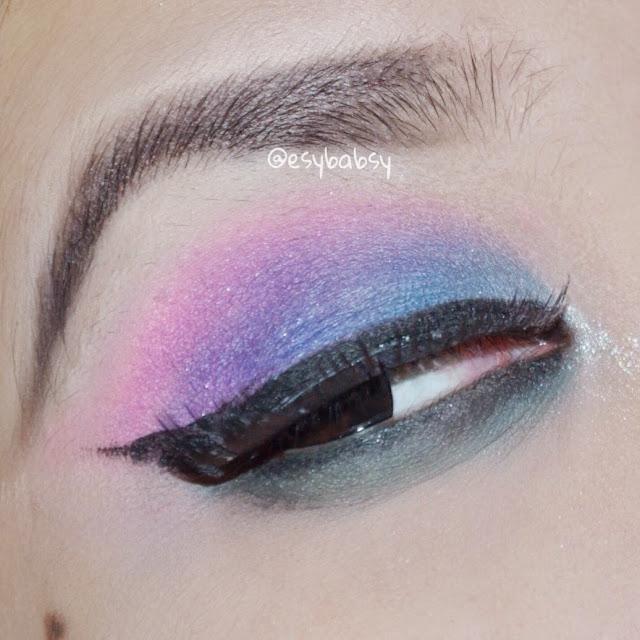 Esy Beauty Blog Tutorial 80s Eye Makeup