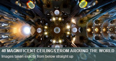 Ceilings from around the world