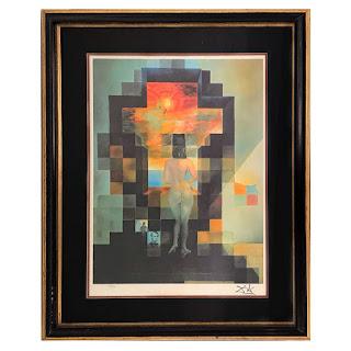 Salvador Dali 'Lincoln in Dalivision' Editioned Print