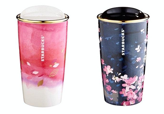 2 台灣星巴克期間限定櫻花杯系列,台灣224開賣,今年的款式實在太生火了啊!