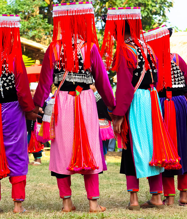 Lisu Hill Tribe, Thailand