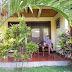 unsere Terrasse in Ubud