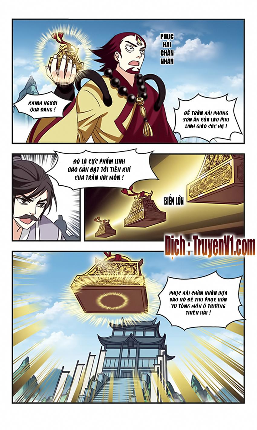 Phong Khơi Thương Lam Chap 83 - Trang 8