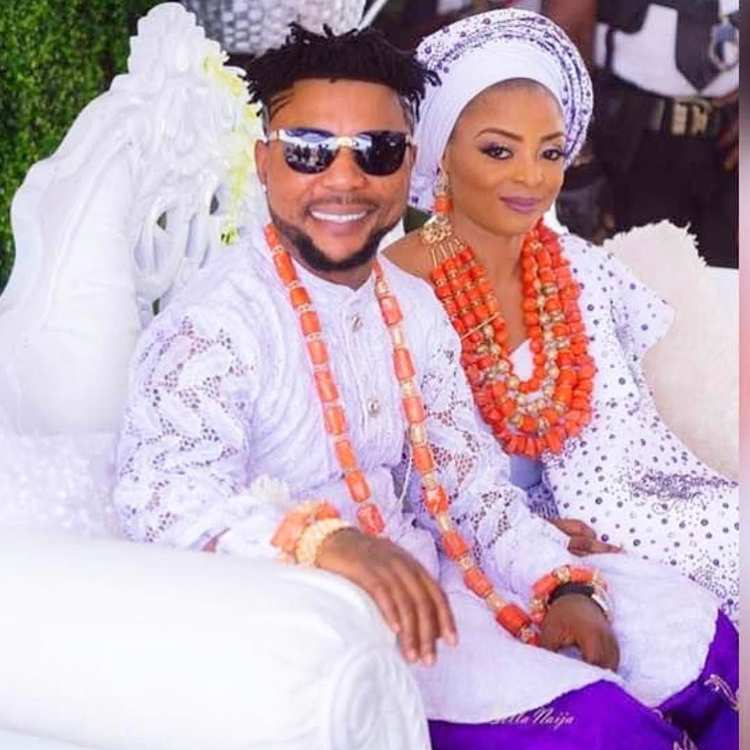 Singer Oritsefemi's wife, Nabila calls out lady who came into her matrimonial home to sleep with her husband while she was at work