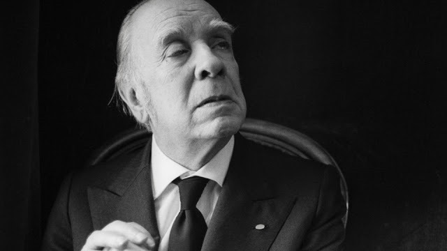 21 Oct 1977 --- Writer Jorge Luis Borges --- Image by © Sophie Bassouls/Sygma/Corbis