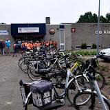 Praktijk fietsverkeersexamens Theo Thijssenschool - Foto's Lammert Lemmen