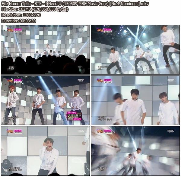 Song No Need Download: I Need U @ MBC Music Core 150509 (No