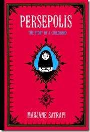 Persepolis The Story of a Childhood Marjane Satrapi book cover
