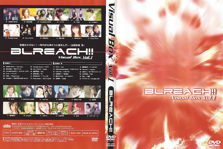 [MUSIC VIDEO] V.A. – BLREACH!! Visual Box Vol.1 (2005.03.17/DVDVOB/7.23GB)