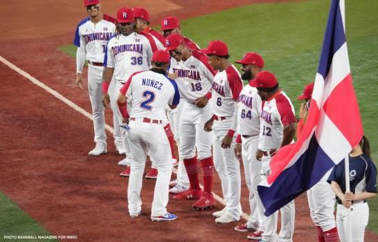 Equipo Dominicano de Beisbol derrota a Israel en Tokio; Bautista decide con hit y avanzan al segundo repechaje del béisbol