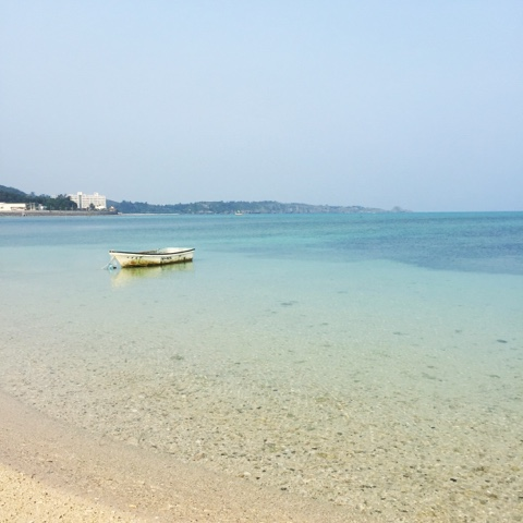 Nakadomari beach in Okinawa