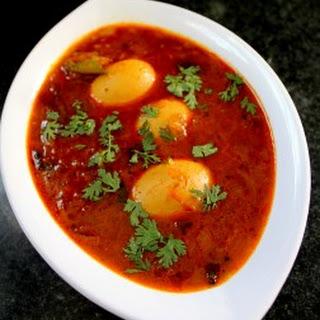 Egg Pulusu Recipe Andhra | Kodi Guddu Pulusu
